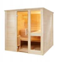 Sauna Komfort Large, 206x208x204 cm, 3 Personen