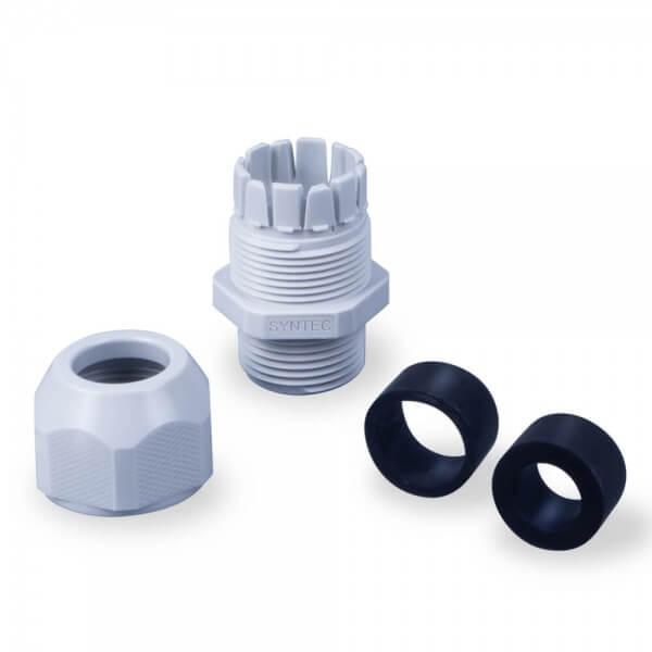 BWT Kabelanschlussdose für Pool Scheinwerfer, weiß - Verschraubung