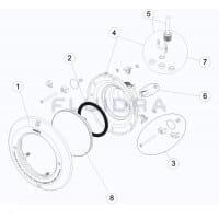 Blendenset für Astralpool UWS, weiß (4403010302)