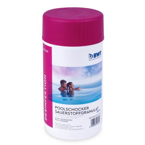 BWT AQA marin Poolschocker Sauerstoffgranulat, 1 kg