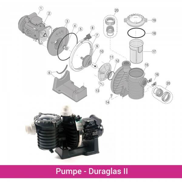 Schraube Pumpenfuß Duraglas II (5P6R) (RU30918SS)